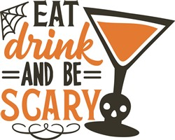 Eat Drink Be Scary print art