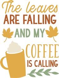 Coffee Is Calling print art