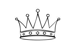 King Crown print art