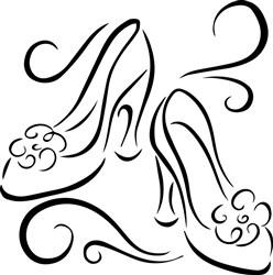 Shoes Outline print art