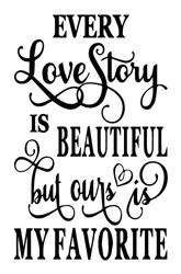 Every Love Story print art