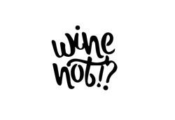 Wine Not print art