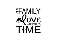Love Is Time print art