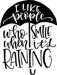People Who Smile print art