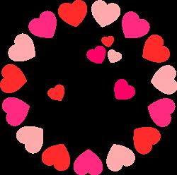 Be Mine Hearts print art