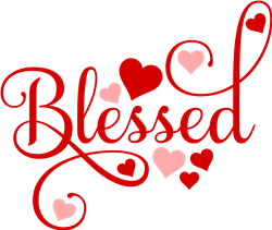 Blessed Hearts print art