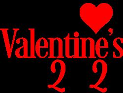 Happy Valentines Day 2021 print art