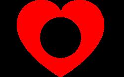 Heart Monogram Frame print art
