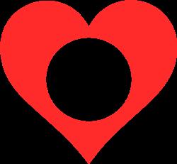 Heart Monogram print art