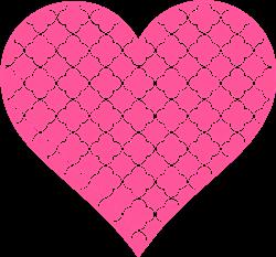 Heart Quatrefoil print art