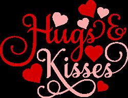Hugs & Kisses print art