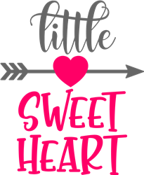 Little Sweetheart print art