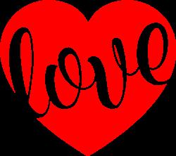 Love Heart print art