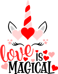 Love Is Magical print art