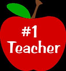 #1 Teacher print art