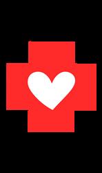 Thank You Red Cross print art