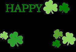 Happy St. Patricks Day print art