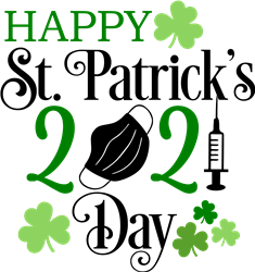 Happy 2021 St. Patricks Day print art