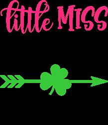 Little Miss Lucky Charm print art