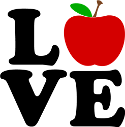 Love Apple print art