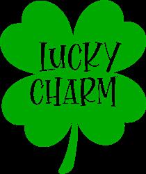 Lucky Charm Shamrock print art