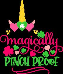Magically Pinch Proof Unicorn print art