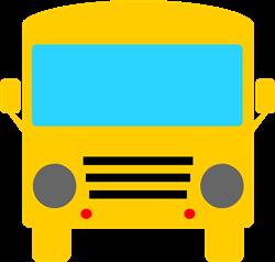 School Bus Front print art