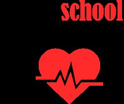 School Nurse Heartbeat print art