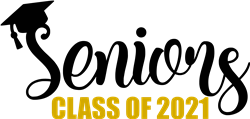 Seniors Class of 2021 print art