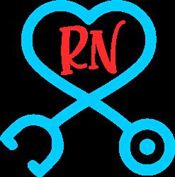 RN Stethoscope print art