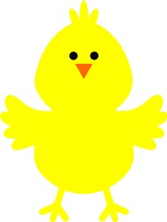 Cute Little Chick print art