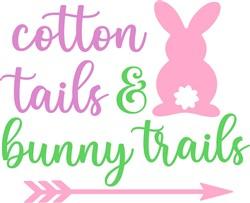 cotton_tails_bunny_trails print art