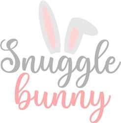 Snuggle Bunny print art