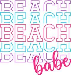 Beach Babe print art