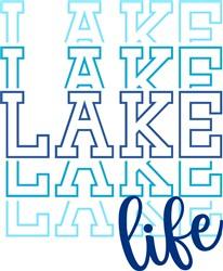 Lake Life print art