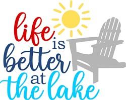 Life At The Lake print art