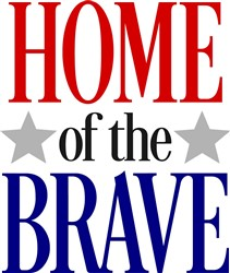 Home Of The Brave print art