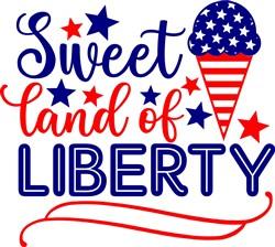 Sweet Land Of Liberty print art