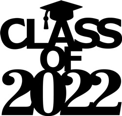 2022 Graduation Topper print art