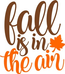 Fall Is In The Air print art