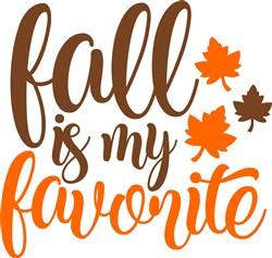 Fall Is My Favorite print art