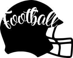 Football Helmet print art