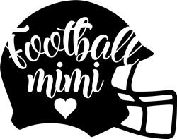 Football Mimi print art