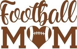 Football Mom print art