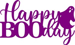 Happy Booday Topper print art