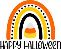Happy Halloween Rainbow print art