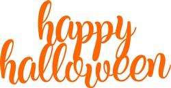Happy Halloween Cake Topper print art