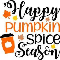 Happy Pumpkin Spice Season print art