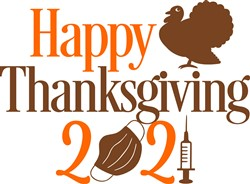 Happy Covid Thanksgiving 2021 print art