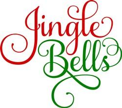 Fancy Jingle Bells print art